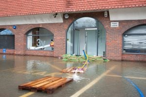 water damage commercial property